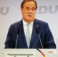 Bild vergrößern:Eine Mehrheit wählten beim 33. Bundesparteitag den NRW-Ministerpräsident Armin Laschet zum neuen Bundesvorsitzenden der CDU Deutschlands.
