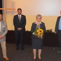 Bild vergrößern:Am 23. September wurde die stellv. CDU-Kreisvorsitzende und Ministerin für Justiz und Gleichstellung Anne-Marie Keding (2.v.r.) als Direktkandidatin für den Wahlkreis Magdeburg-West nominiert.