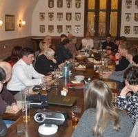 Bild vergrößern:Am 26. Februar trafen sich die Mitglieder des CDU-Ortsverbandes Mitte zu ihrer monatlichen Sitzung, diesmal im Ratskeller.