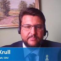 Bild vergrößern:Tobias Krull MdL stelle sich am 18. September einer Online-Diskussion des Behörden Spiegels zu den geplanten Änderungen beim Glückspielstaatsvertrag.