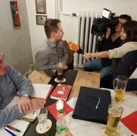 Bild vergrößern:Die Sitzung des CDU-Ortsverbandes Olvenstedt am 12. Februar fand aus aktuellem Anlass großes mediales Interesse.