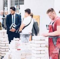 Bild vergrößern:CDU-Kreisvorsitzender Tobias Krull MdL (2.v.l.) beim Besuch des Bau-Bildungs-Zentrums Magdeburg am 11. Juni im Rahmen eines Vor-Ort-Termins des CDU-Landtagsfraktion.