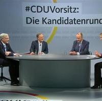 Bild vergrößern:Am 08. Januar fand das zweite Kandidatenduell um den CDU-Vorsitz online statt.