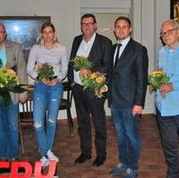 Bild vergrößern:Der neue Vorstand des CDU-Ortsverbandes Sudenburg/Friedenshöhe der am 28. September gewählt wurde.