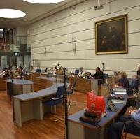 Bild vergrößern:In der gestrigen (30.11) Fraktionssitzung ging es um die Vorbereitung der kommenden Stadtrats- und Haushaltssitzung.