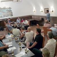 Bild vergrößern:Am Mittwoch, den 23. Juni 2020, fand in den Räumen der Gaststätte Ratskeller die Sitzung des CDU-Ortsverbandes Mitte statt.