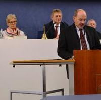 """Bild vergrößern:Zur aktuellen Debatte: """"Magdeburger Stadtgrün in Gefahr?"""", sprach gestern (21.03) von unserer Fraktion Frank Schuster (Mitglied im Ausschuss für Umwelt und Energie)."""