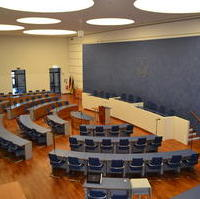 Bild vergrößern:Zum ersten Mal in der Geschichte des Magdeburger Stadtrates, findet keine öffentliche Sitzung statt, sondern es wird ein Umlaufverfahren durchgeführt.