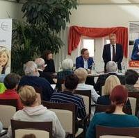 Bild vergrößern:Auf Einladung des Bundestagsabgeordneten Tino Sorge fand am 02. März im VITANAS Demenz Centrum Am Schleinufer ein