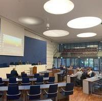 Bild vergrößern:Die Fraktion CDU/FDP tagte heute (04.05) wieder im Ratssaal.