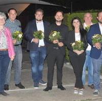 Bild vergrößern:Der neue Vorstand des Ortsverbandes Olvenstedt