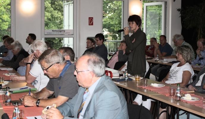 Rund zwei Stunden diskutierten die Teilnehmer der erweiterten CDU-Kreisvorstandssitzung am 09. Juli über die Ergebnisse der Kommunalwahlen.