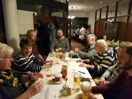Sitzung des CDU-Ortsverbandes Neustadt am 30. Oktober 2019. Unter anderem mit einem Bericht des Stadtrates Tim Rohne (g.r.)