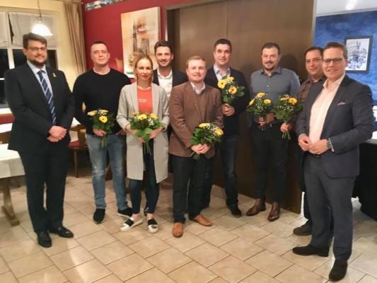 Am 28. Januar wählten die Mitglieder des CDU-Ortsverbandes Am Neustädter Feld einen neuen Vorstand. An der Spitze weiter Florian Philipp (4.v.l.).