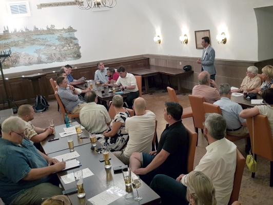 Am Mittwoch, den 23. Juni 2020, fand in den Räumen der Gaststätte Ratskeller die Sitzung des CDU-Ortsverbandes Mitte statt.