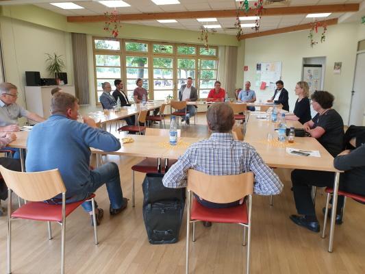Sitzung des CDU-Ortsverbandes Ostelbien am 16. Juli 2020. Nach mehreren Monaten ohne reguläre Sitzung war der Redebedarf entsprechend hoch.