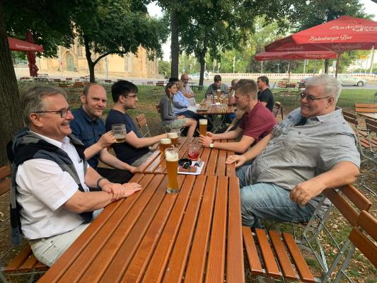 Einige der Teilnehmer des Sommertreffs des CDU Ortsverbandes Mitte am 28. Juli 2020.