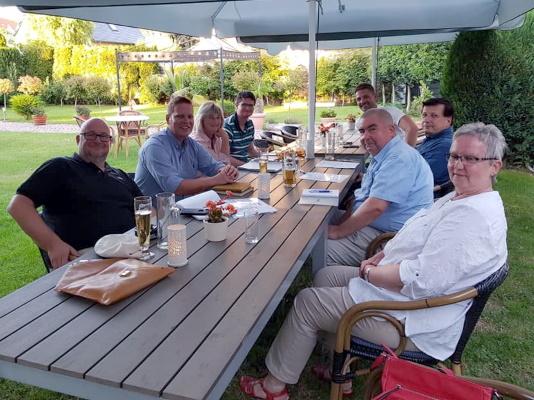 Sommerliche Sitzung des CDU-Ortsverbandes Diesdorf/Lindenweiler