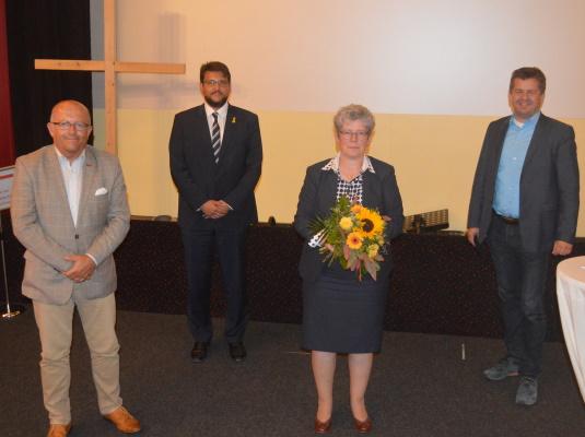 Am 23. September wurde die stellv. CDU-Kreisvorsitzende und Ministerin für Justiz und Gleichstellung Anne-Marie Keding (2.v.r.) als Direktkandidatin für den Wahlkreis Magdeburg-West nominiert.