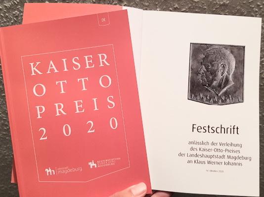Der rumänische Präsident Klaus Werner Iohannis erhielt am 14. Oktober im Magdeburger Dom den Kaiser-Otto-Preis. Damit wurden seine Verdienste um die europäische Idee gewürdigt.