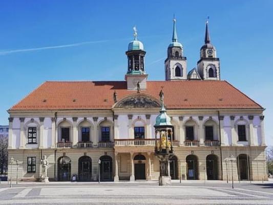 Das Alte Rathaus ist der Dienstsitz des Magdeburger Oberbürgermeisters