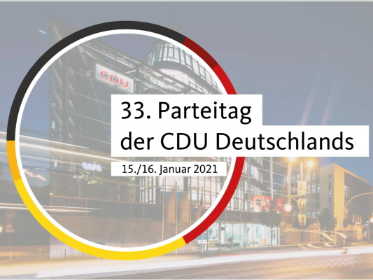 Zu einer digitalen Konferenz hatte die Bundes-CDU am 15. Dezember alle CDU-Kreisvorsitzenden sowie Kreisgeschäftsführer/innen eingeladen.