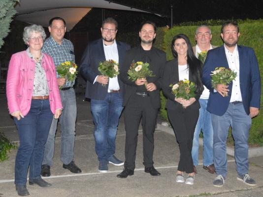 Der neue Vorstand des Ortsverbandes Olvenstedt